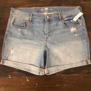 NWT Lightwash Denim Shorts